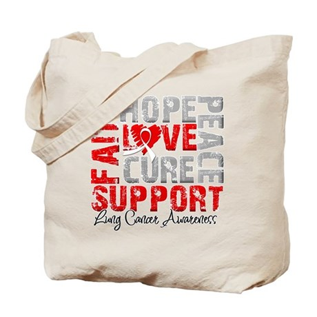 Hope Lung Cancer Tote Bag