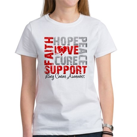 Hope Lung Cancer Women's T-Shirt