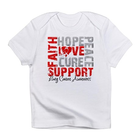Hope Lung Cancer Infant T-Shirt