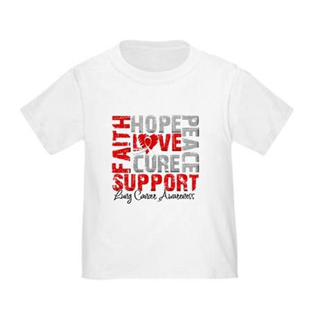 Hope Lung Cancer Toddler T-Shirt