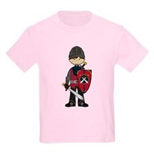 Cute Medieval Knight T-Shirt