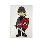 Cute Medieval Knight Magnet (100 Pk)