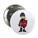 "Cute Medieval Knight 2.25"" Button (10 Pk)"