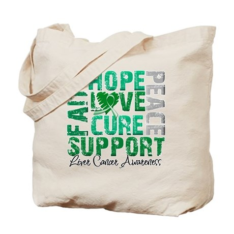 Hope Liver Cancer Tote Bag