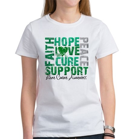Hope Liver Cancer Women's T-Shirt