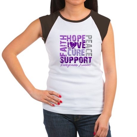 Hope Leiomyosarcoma Women's Cap Sleeve T-Shirt