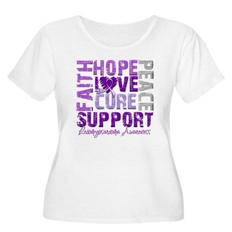Hope Leiomyosarcoma Women's Plus Size Scoop Neck T