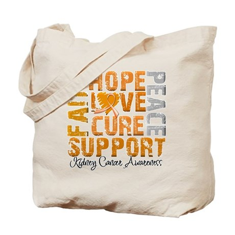 Hope Kidney Cancer Tote Bag