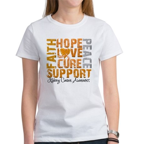 Hope Kidney Cancer Women's T-Shirt
