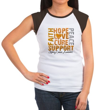 Hope Kidney Cancer Women's Cap Sleeve T-Shirt