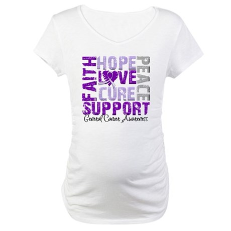 Hope General Cancer Maternity T-Shirt