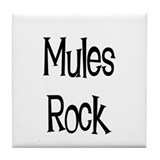 Mules Rock Tile Coaster