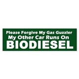 BIODIESEL Forgive Me, Other Car Runs On (Green)