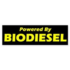 Powered By BIODIESEL (yellow)