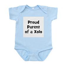 Proud Parent of a Xolo Infant Creeper