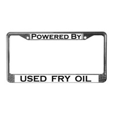 Powered By Used Fry Oil PLATE