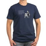 Age Related Jokes Men's Fitted T-Shirt (dark)