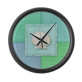 Cute Coral reef Large Wall Clock