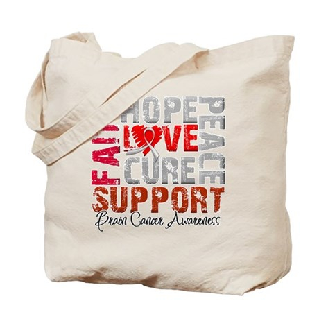 Hope Brain Cancer Tote Bag