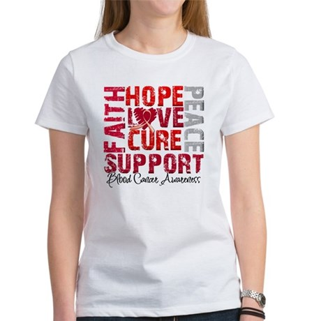 Hope Blood Cancer Women's T-Shirt