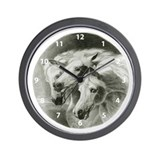 Pharaoh's Horses Wall Clock