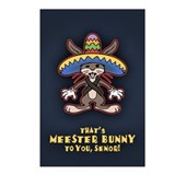 Meester Bunny Postcards (Package of 8)
