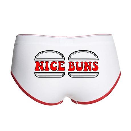 """Nice Buns"" Women's Boy Brief"