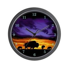 Cute Animals and wildlife Wall Clock