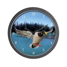 Cute Mallards Wall Clock