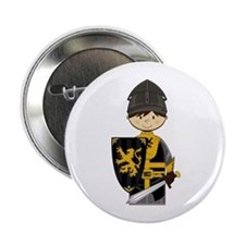 "Cute Crusader Knight 2.25"" Button"