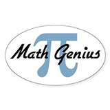 Math Genius Decal