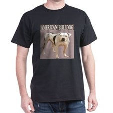 American Bulldog Black T-Shirt