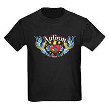 Autism Bird & Heart T