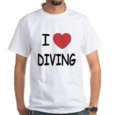 I heart diving Shirt