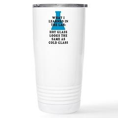 Lab Glass Stainless Steel Travel Mug