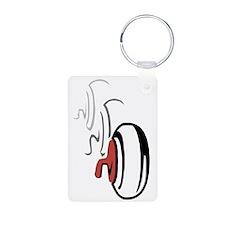 Curling Rocks Keychains