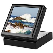 Crashing Waves Keepsake Box