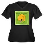 adopt a golden logo cropped Plus Size T-Shirt