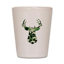 BUCK IN CAMO Shot Glass