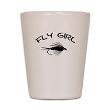 FLY GIRL Shot Glass