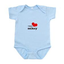I Love Mikey Infant Bodysuit