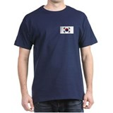 South Korean Flag T-Shirt (Dark)