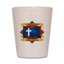 1st Missouri Infantry Shot Glass