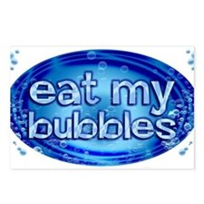 Bubbles Postcards (Package of 8)