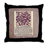 Wonderberry Vintage Ad from 1909 Throw Pillow
