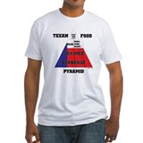 Texan Food Pyramid Shirt