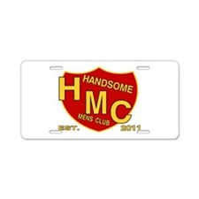 HANDSOME MENS CLUB Aluminum License Plate
