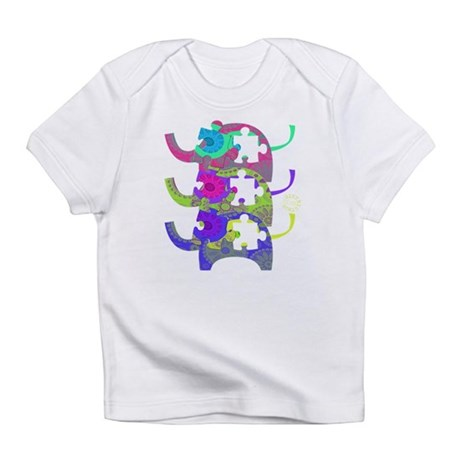 Elephants for Autism Baby Tee