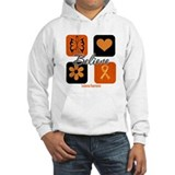 Believe Leukemia Awareness Hoodie