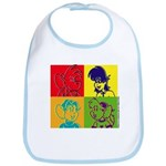 SURF RAT & SPENCER POP ART Bib